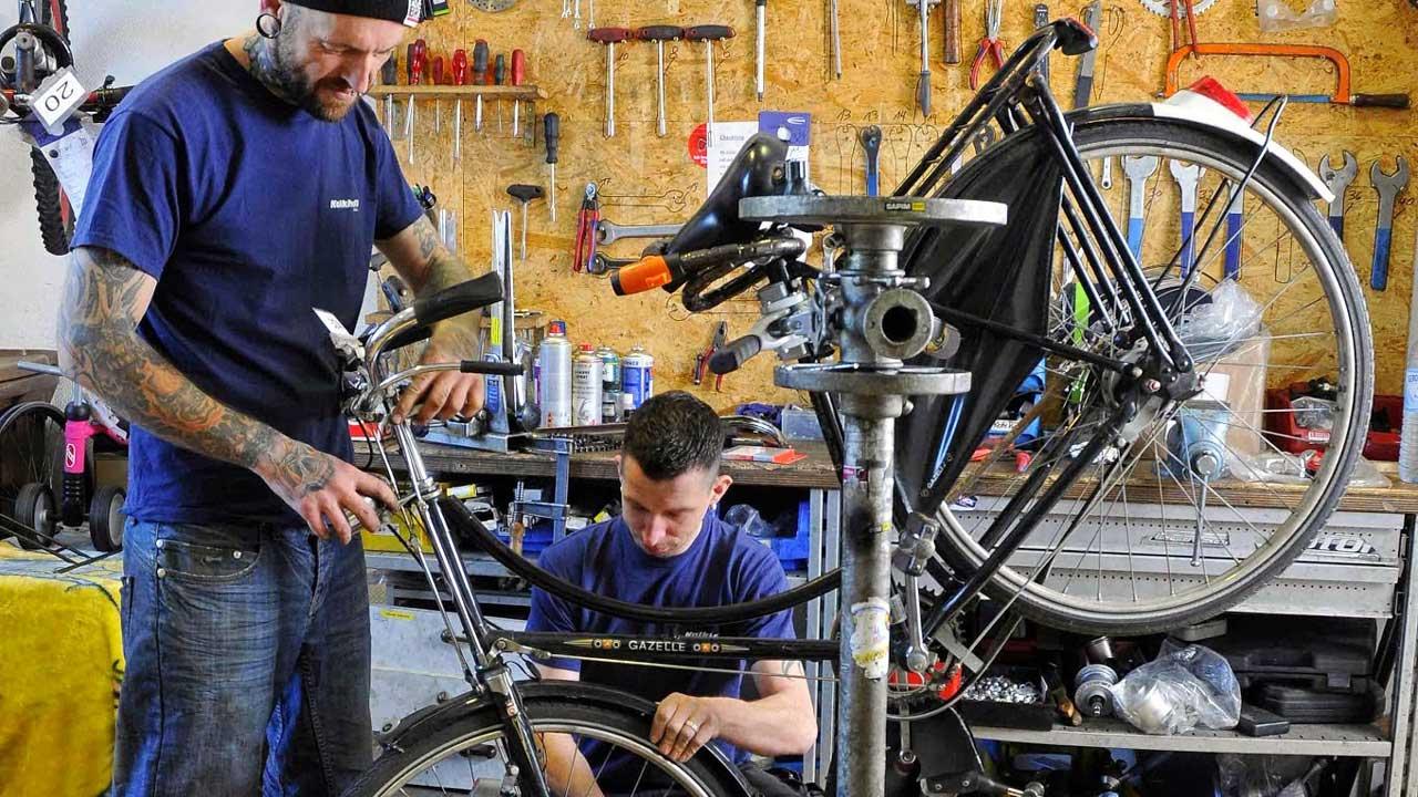 Fahrradservice & Servicepakete bei der Radwelt nutzen