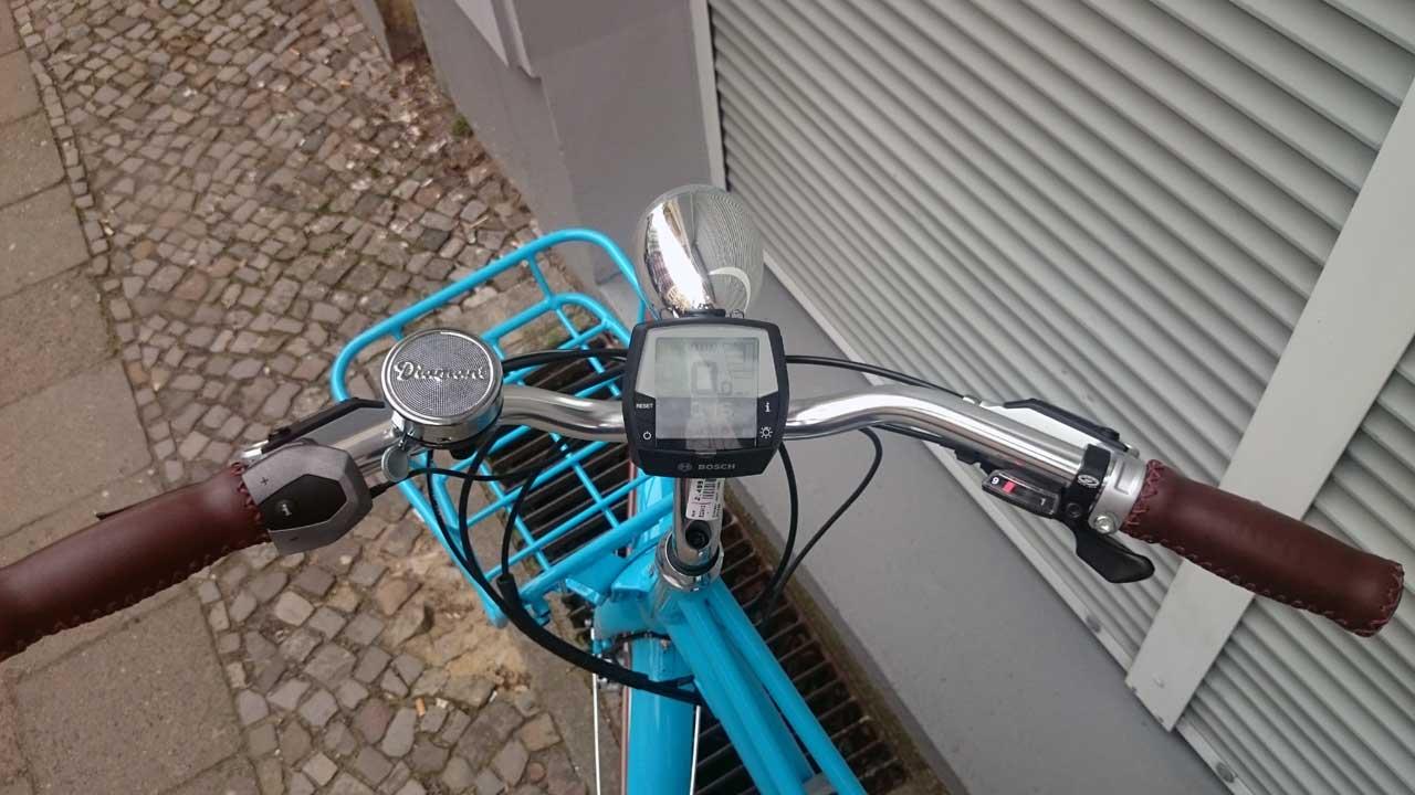 Diamant Fahrrad mit Motorunterstützung - Juna Ebike