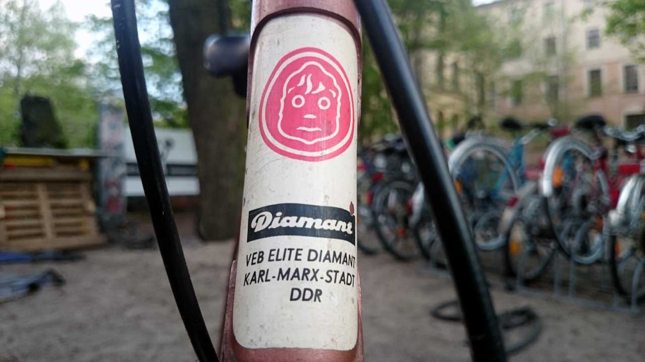 Diamant Fahrrad TS - DDR