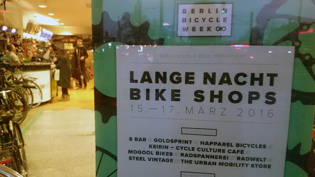 Lange Nacht der Fahrradläden - Radwelt Berlin