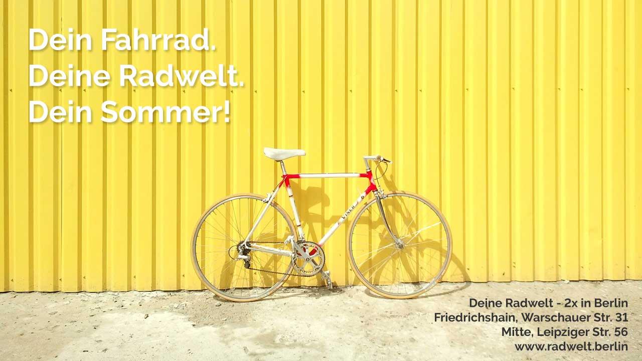 Radwelt Fahrrad Sommer