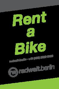 Fahrradverleih Berlin - Rent-a-bike bei der Radwelt Berlin