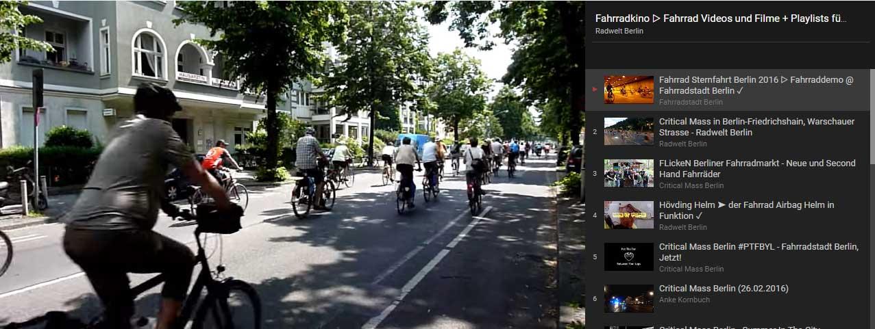 Fahrradkino - Film, Fahrrad & Großstadtverkehr