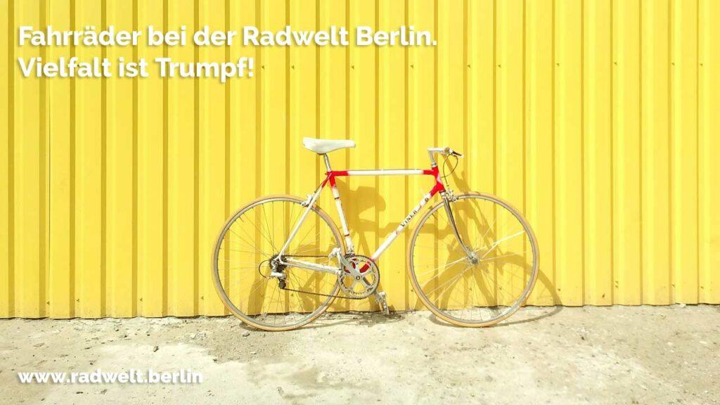 Fahrräder kaufen bei der Radwelt mit bester Beratung