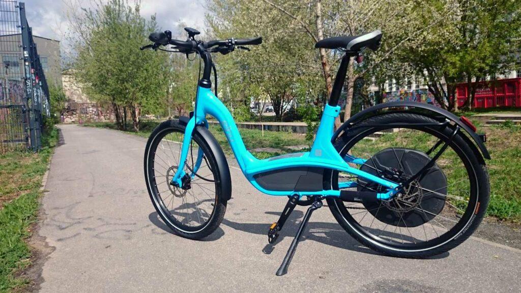 elby bike das neue e bike mit bionx heckantrieb im radwelt. Black Bedroom Furniture Sets. Home Design Ideas
