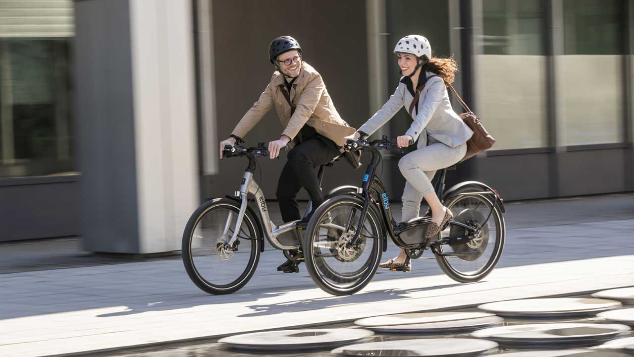 Ebike BionX Antrieb im neuen Elby Bike - Probefahren bei der Radwelt