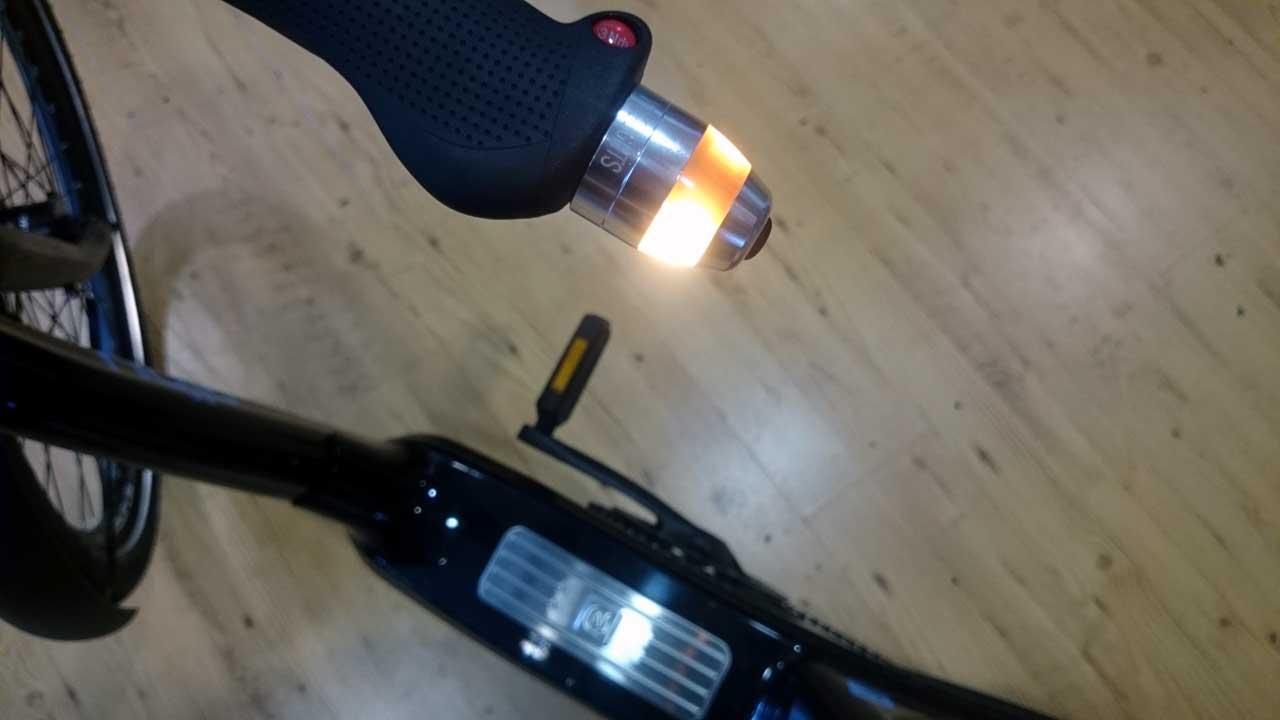 Elby E-Bike Blinker für den Lenker
