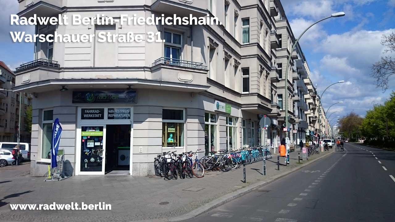 fahrradladen friedrichshain radwelt berlin warschauer stra e 31. Black Bedroom Furniture Sets. Home Design Ideas