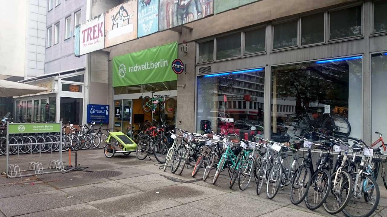 Neueröffnung: Radwelt Berlin-Mitte in der Leipziger Straße 56