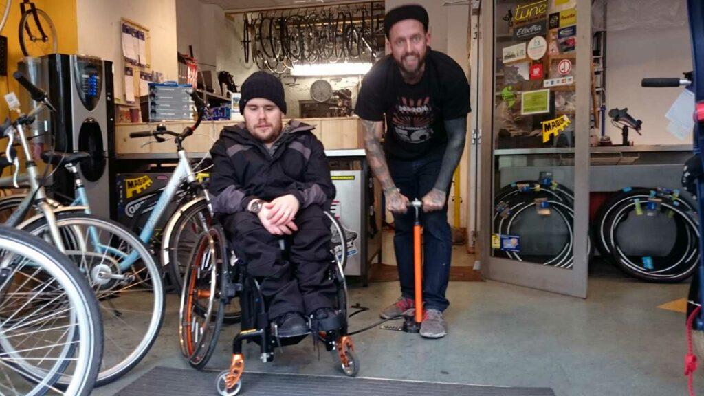 Service & Hilfe bei der Radwelt Berlin-Mitte