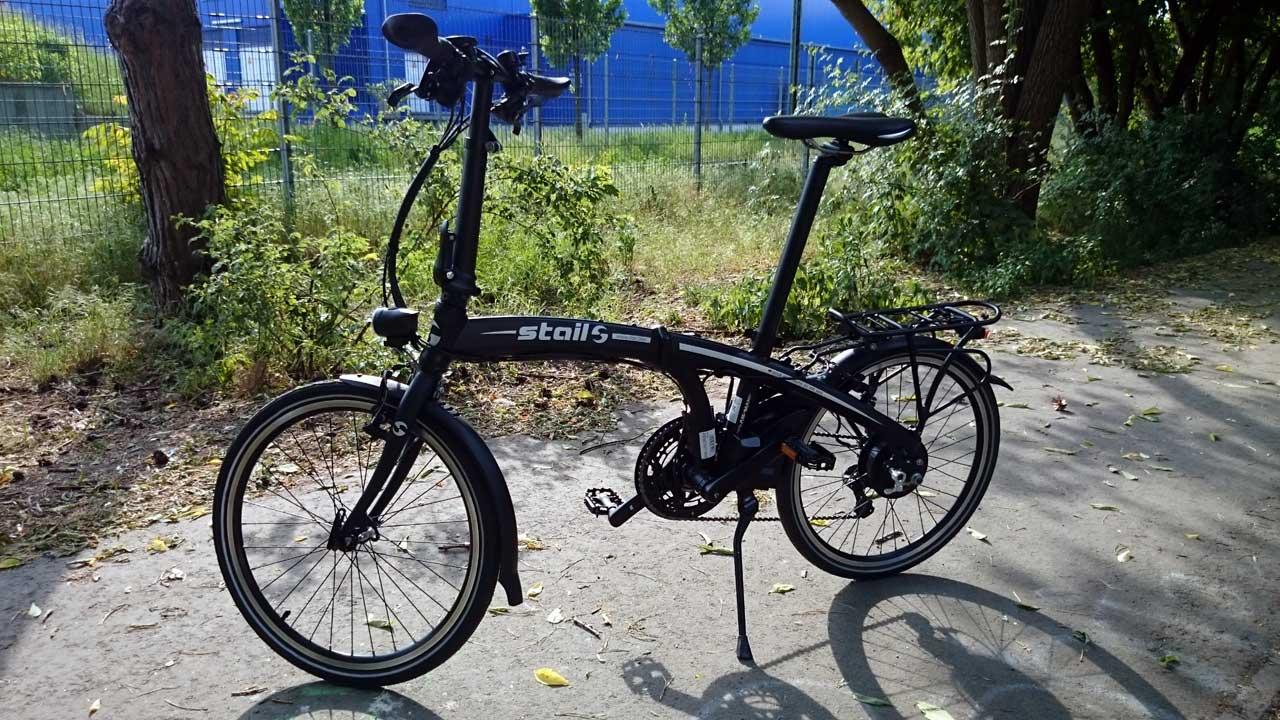 Stail Ebike Faltrad Test & Probefahrt bei der Radwelt