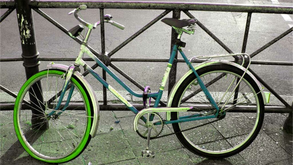 Fahrradsaison - Frühling