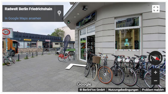 Radwelt Berlin - Google Business View