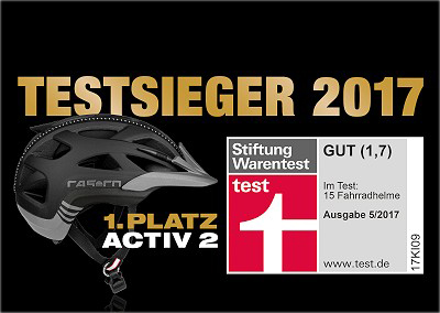 casco activ 2 test fahrradhelm sieger warentest 1 7. Black Bedroom Furniture Sets. Home Design Ideas