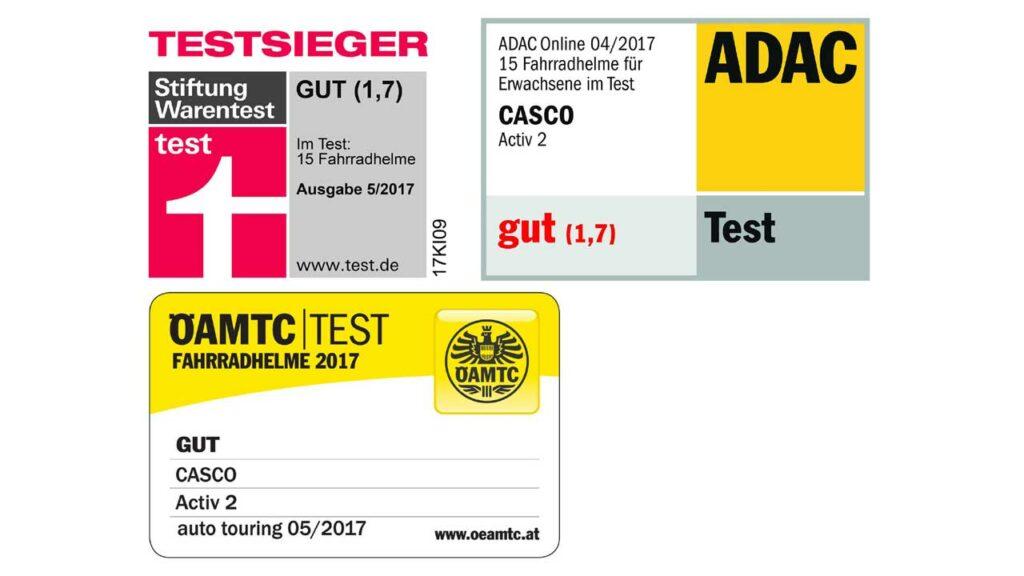 Casco Activ 2 - Testsieger Stiftung Warentest & ADAC