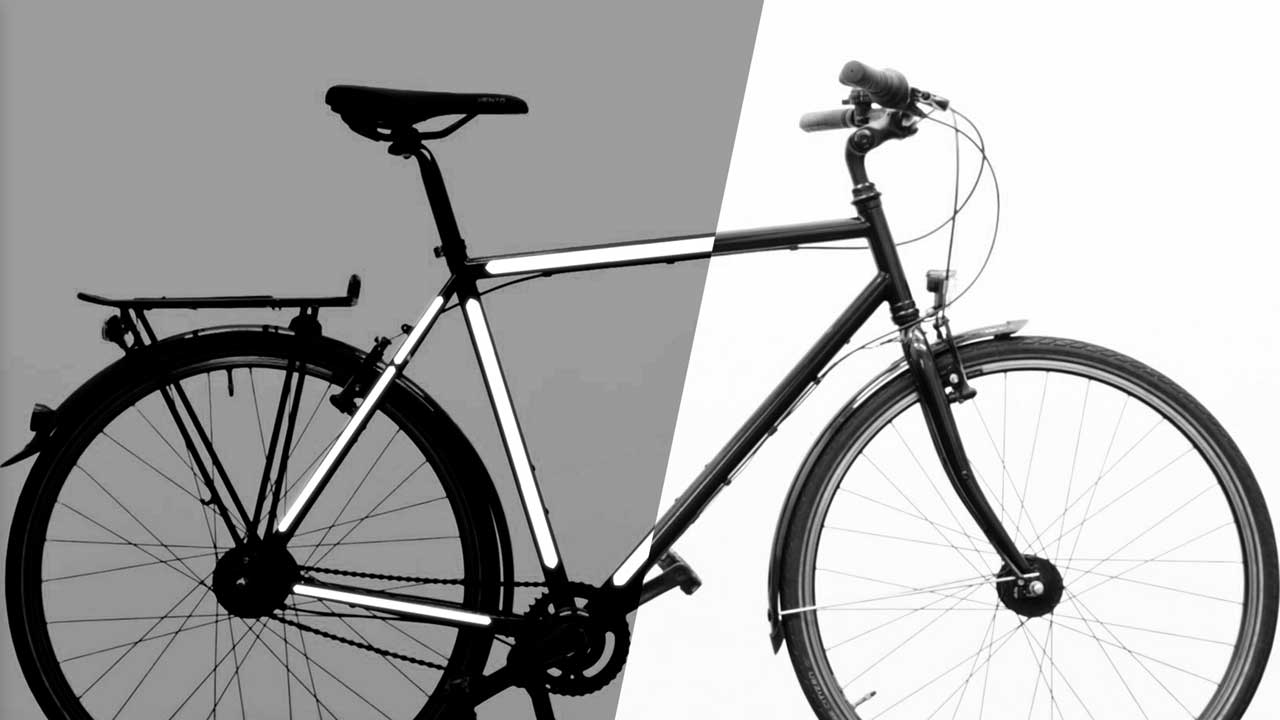 Fahrrad Aufkleber Video Reflektierende Fahrradaufkleber Reflective Berlin