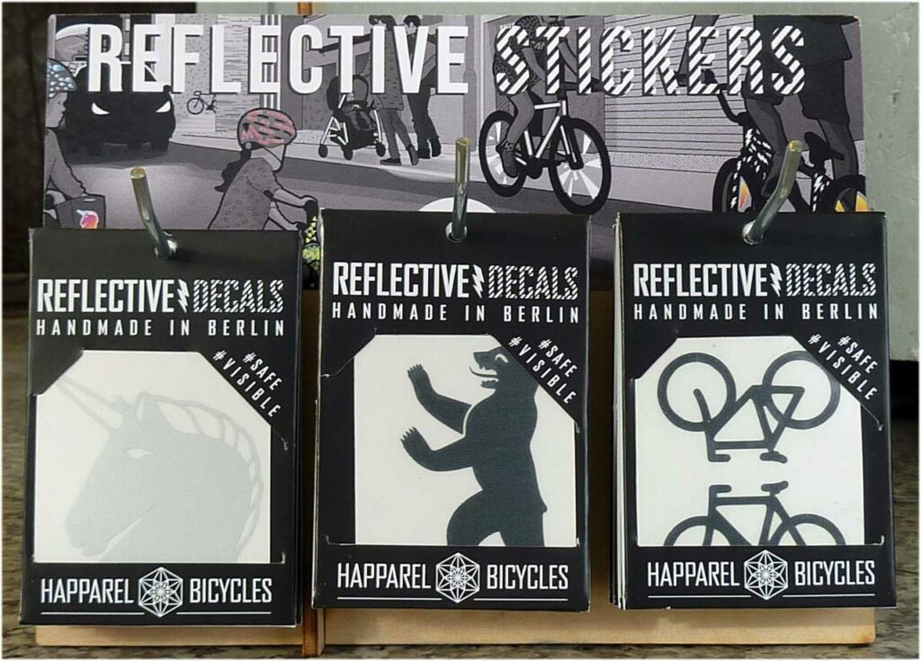 Fahrrad Aufkleber - Reflective Action Pack
