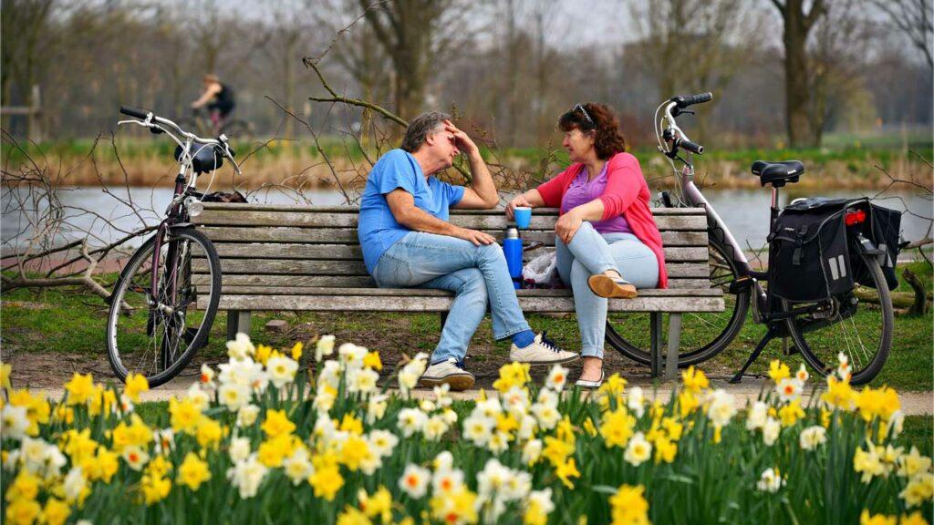 Fahrradsaison - Frühling von März bis Juni