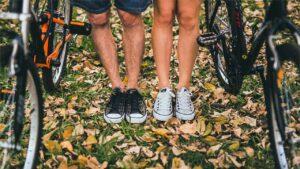 Fahrradsaison - Herbst von September bis Dezember