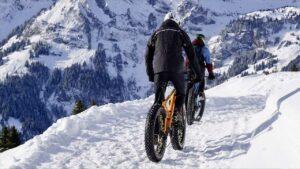 Fahrradsaison - Winter von Dezember bis März