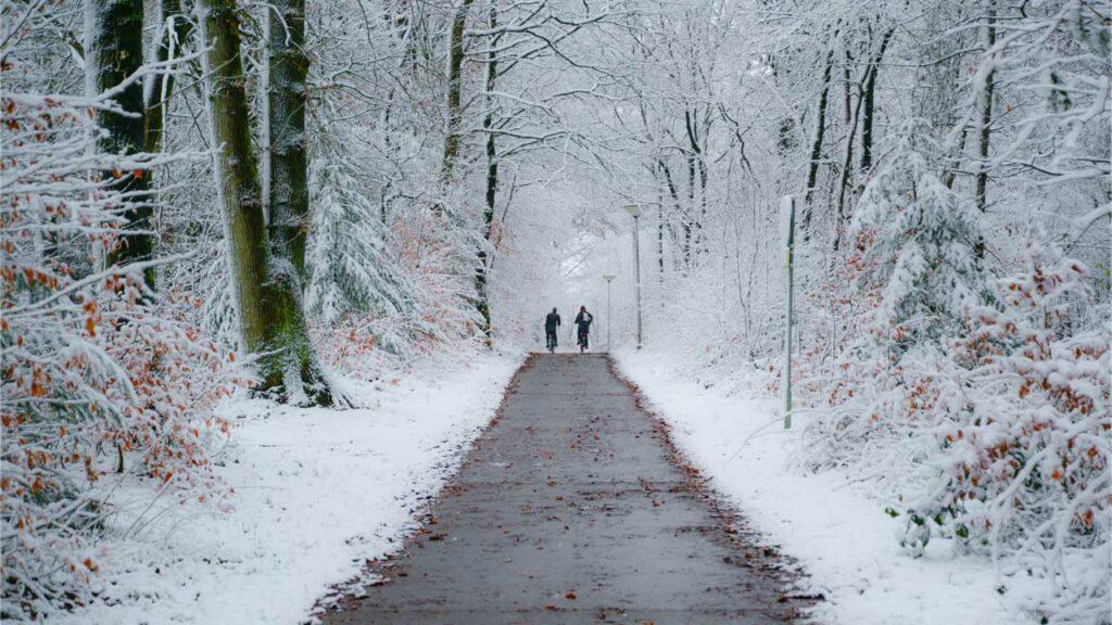 Fahrrad Wintercheck - Fahrradfahren im Winter