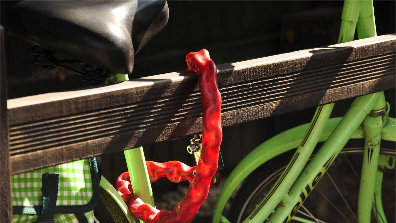 Fahrraddiebstahl Schutz