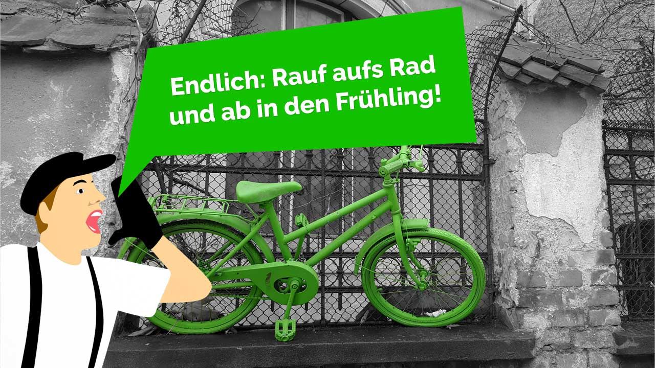 Fahrradfrühling - Radwelt Berlin in Friedrichshain & Mitte