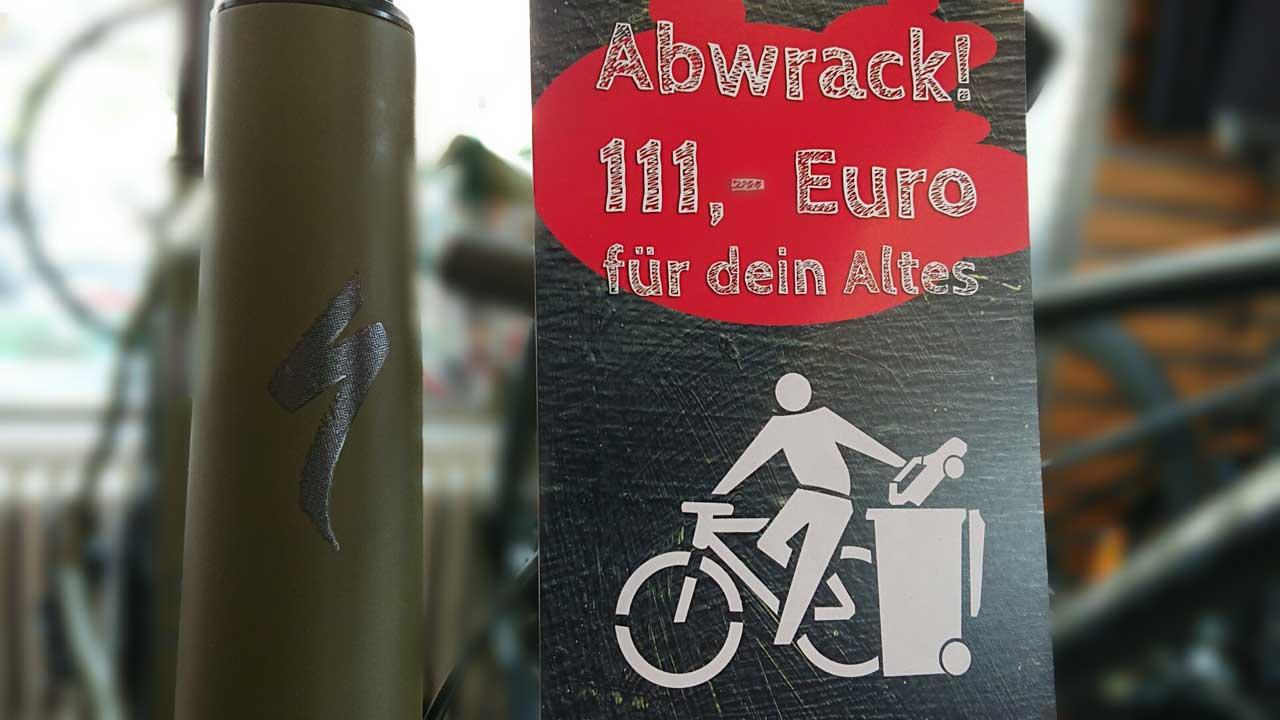 Fahrradsommer - Abwrackprämie für Fahrräder